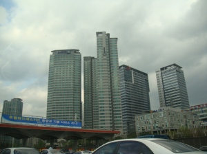 Apartment Towers near the Seoul Toll Gate