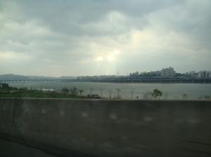 Sun Rays in Seoul