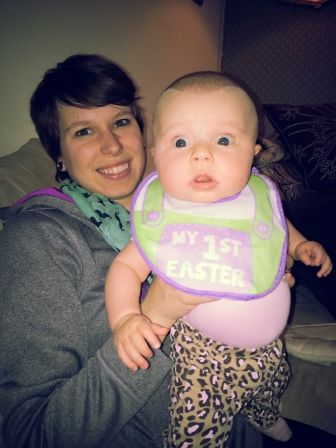 First Easter but funny face