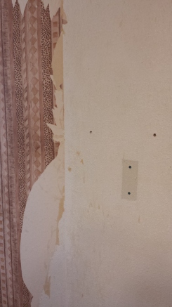 Ripping the wallpaper off