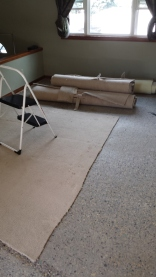 Bye Bye old carpet