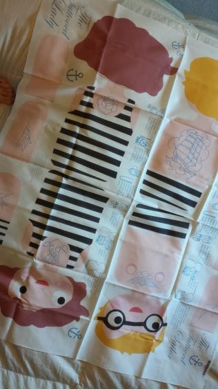 1 yard of cut & sew fabric