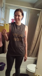 My Harry Potter shirt I made